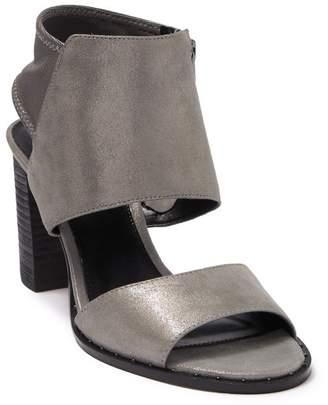 Pelle Moda Grey Metallic Heeled Sandal