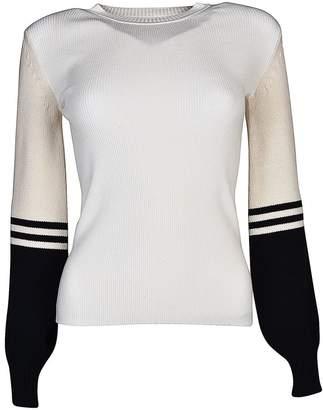 Sportmax Code Striped Sweatshirt