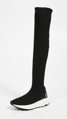 D.A.T.E Dafne High Wool Sneakers