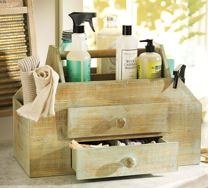 Pottery Barn Vintage Cleaning Caddy