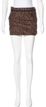 Roseanna Jacquard Mini Skirt