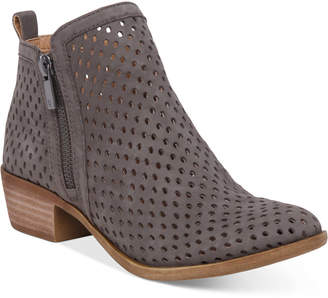 Lucky Brand Women's Perforated Basel Booties Women's Shoes $139 thestylecure.com