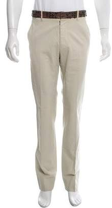 Maison Margiela Leather-Accented Casual Pants w/ Tags