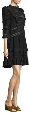Rebecca Taylor Silk Lace Dress