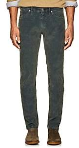PT05 Men's Corduroy Super-Slim 5-Pocket Jeans - Dk. Green