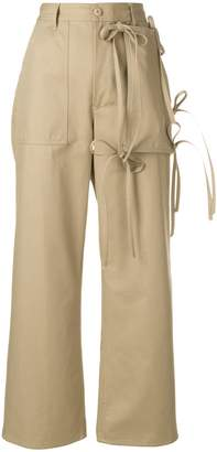 MM6 MAISON MARGIELA tied cargo trousers