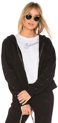 Wildfox Couture Glitz Sleeves Hoodie