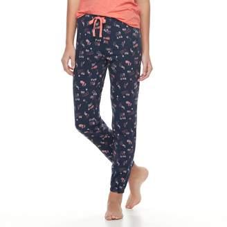So Juniors' SO Printed Jogger Pajama Pants