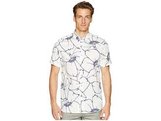 Ted Baker Andle Short Sleeve Linear Floral Shirt