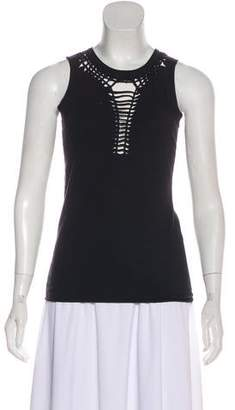Jean Paul Gaultier Sleeveless Cutout T-Shirt