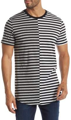 Public Opinion Two-Tone Stripe Tee
