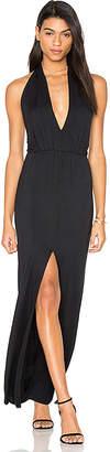 Krisa Open Halter Back Dress