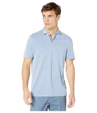 3b5d1fb1394d89 Ted Baker Doller Short Sleeve Woven Collar Polo