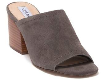 Steve Madden Deco Suede Block Heel Sandal