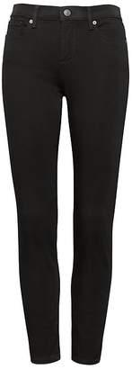 Banana Republic Petite Skinny Stay Black Ankle Jean
