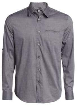John Varvatos Adjustable Sleeve Slim Fit Shirt