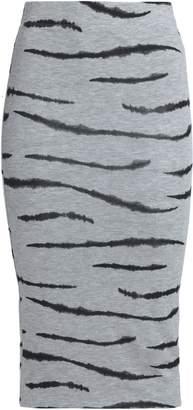 Zoe Karssen Printed Jersey Skirt