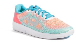 Girl's Nike Free Run 2 Athletic Shoe $59.99 thestylecure.com