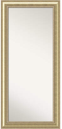 Amanti Art Astoria Wood 31x67 Floor - Leaner Mirror