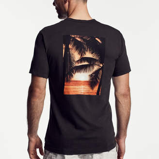 James Perse PALM GRAPHIC T-SHIRT