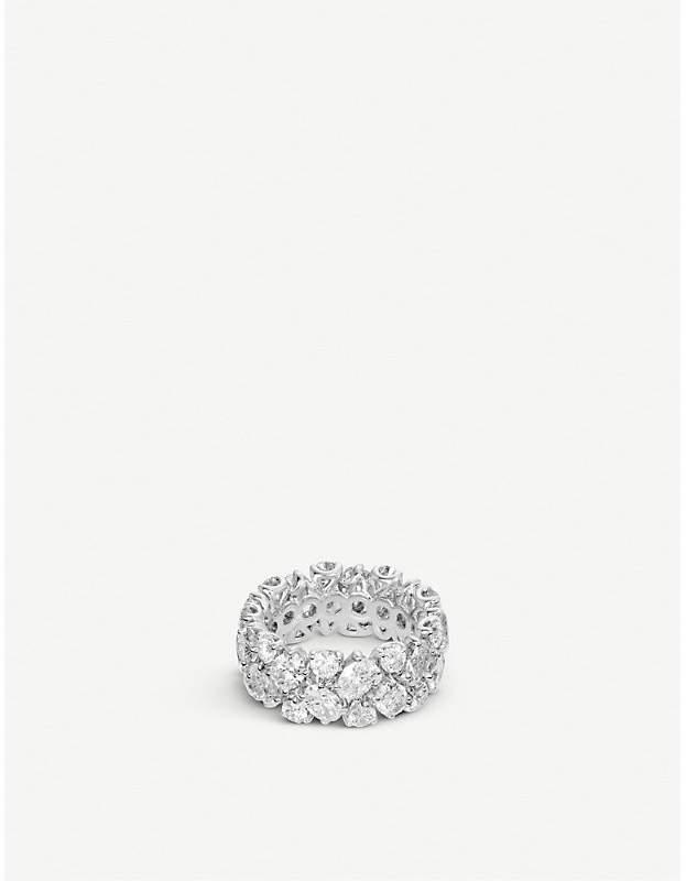 BUCHERER JEWELLERY Classics 18ct white-gold diamond ring