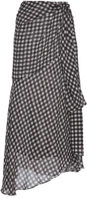 Silvia Tcherassi Fedra Gingham Skirt Size: S