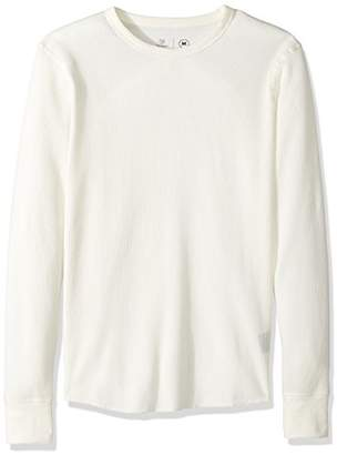 Brixton Men's Basic Tailored Fit Long Sleeve Thermal Knit Shirt