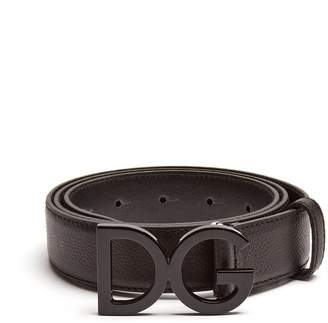Dolce & Gabbana buckle leather belt