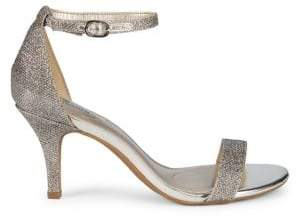 b28780686e8 Bandolino Madia Glitter Fabric Sandals