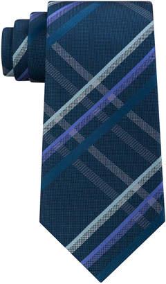 Kenneth Cole Reaction Men's Grid Silk Tie