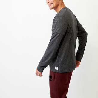 Roots Flannel Pocket Long Sleeve Top