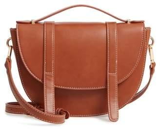 BP Top Handle Saddle Crossbody Bag