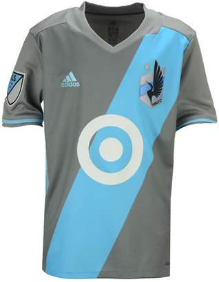 adidas Minnesota United Fc Primary Replica Jersey, Big Boys (8-20) $65 thestylecure.com
