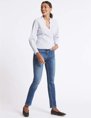 Marks and Spencer Mid Rise Slim Jeans