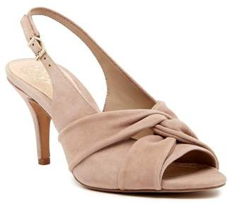 Vince Camuto Piminae Knotted Slingback Leather Sandal