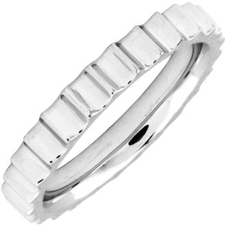 Simply Stacks Sterling 3.25 mm Stair Step Ring