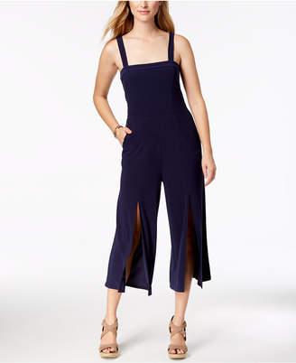 Love Scarlett Petite Split-Hem Cropped Jumpsuit