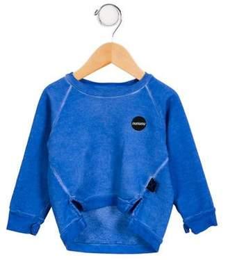 Nununu Boys' Logo Pullover Sweater