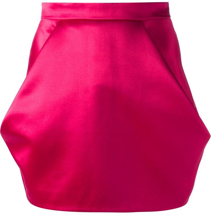 Balmain high waisted mini skirt