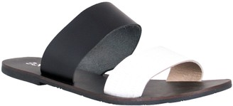 NOMAD Leather Slide Sandals - Noosa