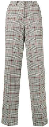 Cambio Houndstooth tailored trousers