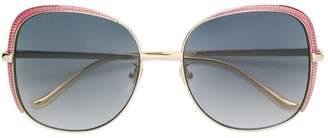 Gucci oversized square shaped sunglasses