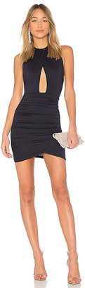 by the way. Lauren Ruched Cut Out Dress