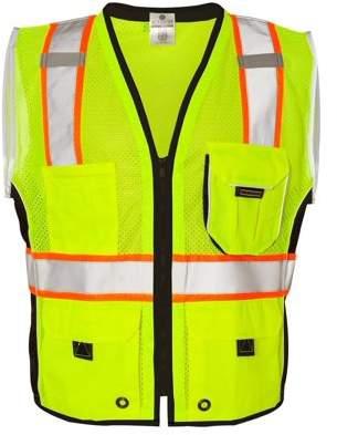 ML Kishigo Workwear Black Series Heavy Duty Vest