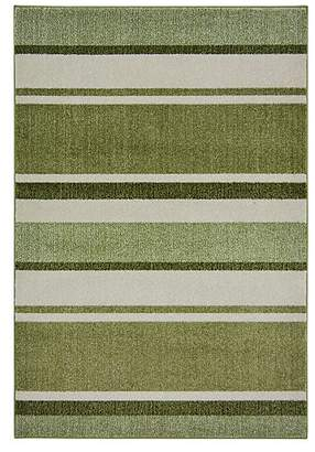 At George Asda Homemaker Green Stripe Rug
