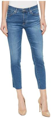 AG Adriano Goldschmied Prima Crop in Indigo Viking Women's Jeans