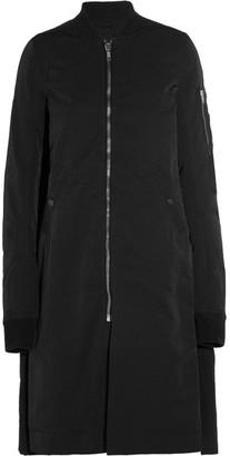 Rick Owens - Cotton-shell Bomber Jacket - Black $1,795 thestylecure.com