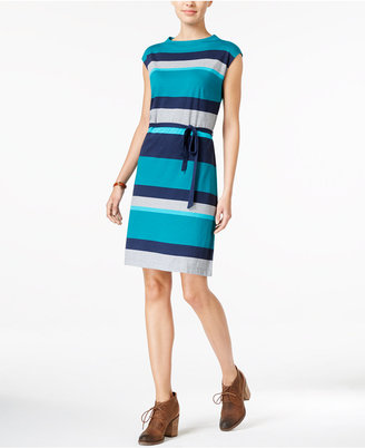 Tommy Hilfiger Luella Striped Dress $79.50 thestylecure.com