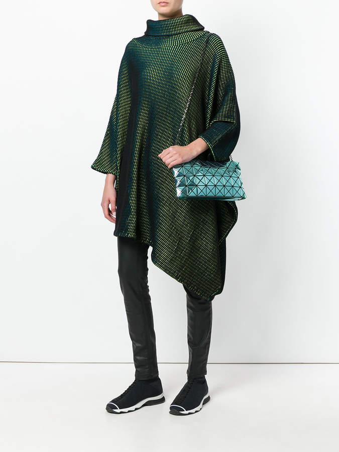 Bao Bao Issey Miyake metallic geometric shoulder bag