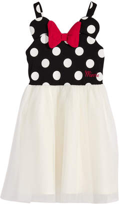 Disney Disney's Minnie Mouse 3D Bow & Dot-Print Dress, Toddler Girls